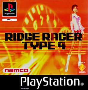 Ridge Racer Type 4 (Front EUR-PAL)