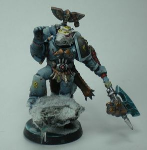 Pretre des runes space wolf conversion 6