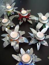 Canette alu allum e terra tout en r cup recyclage - Decoration de noel avec de la recuperation ...