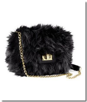 Sac en fausse fourrure : 19,95 &#x20AC;