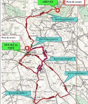 parcours 11 km