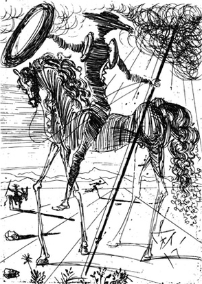 don quichotte dali2