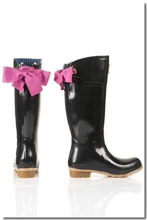 BOTTES EN CAOUTCHOUC AVEC RUBAN EVEDON JOULES : &#x20AC; 98,00