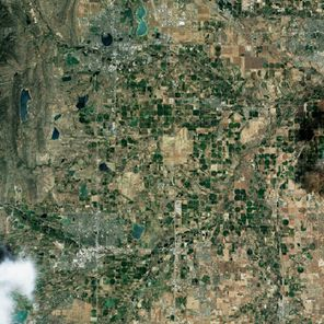Landsat 8 - OLI - Inondations Colorado - 29-06-2013 - Avant