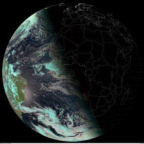 Meteosat 9 - 21-12-2010 - 18h00