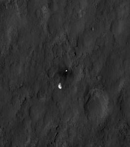 Curiosity - MRO - Parachute - Bouclier arrière - 07-08-201