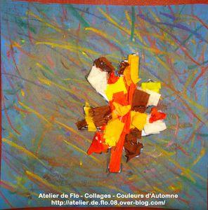 Peinture-Collage-Automne-Paperolles-Quilling-Atelier de Flo28