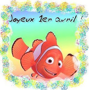 Poisson d'avril Nemo