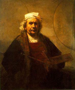 Rembrandt autoportrait vieux