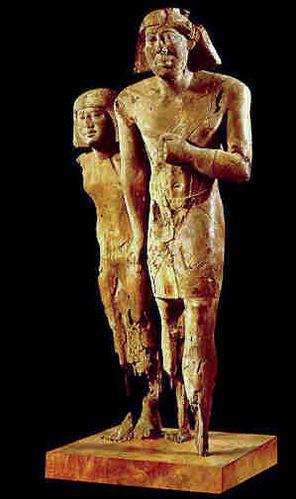 Rahotep et Nofret - louvre