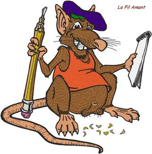 rat illustrateur
