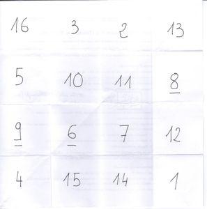 carré diabolique