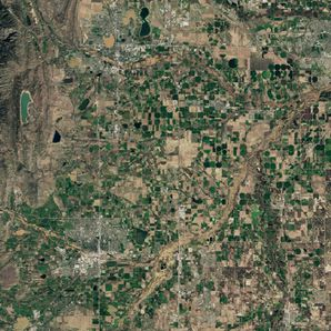 Landsat 8 - OLI - Inondations Colorado - 17-09-2013 - Aprè