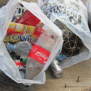 d205r BlogED Mars 2013 Kérou Détail déchets