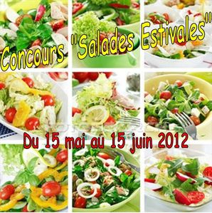 Concours salades