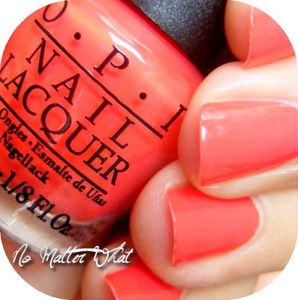 Swatch OPI Red 1