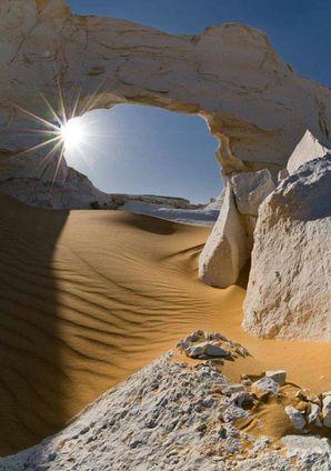 désert lumière