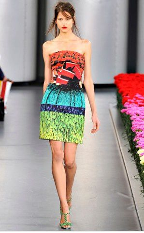 mary katrantzou tulip dress