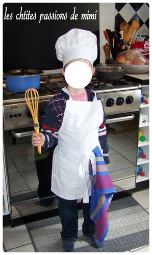 D guisement de cuisinier les chtites passions de mimi for Cuisinier 2010