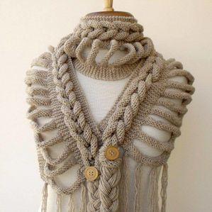 tricoter tresse