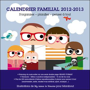 calendrier familial my name is simone