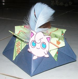 Boîte à Bonbons Anniversaire Pokémon Rondoudou Et Son Tuto