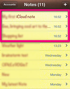 transfer icloud notes to iphone account
