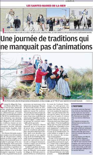 UNE JOURNEE DE TRADITIONS