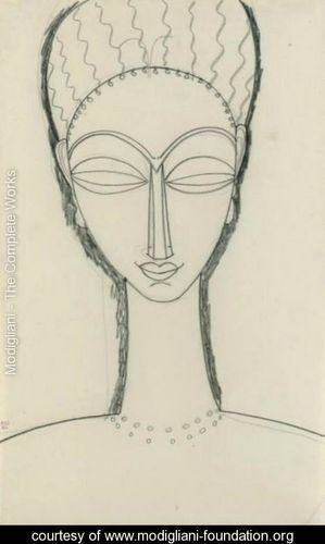 Modigliani-Tete-De-Face-Avec-Double-Collier-Et-Boucles-D-Or.jpg