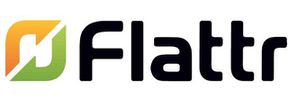 flattr logo header