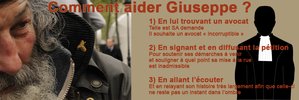 comment aider giuseppe