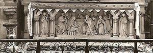 bas de l'autel