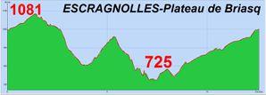Escragnolles- Plateau de Briasq