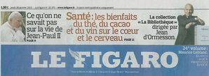 Le figaro 28 01 2010