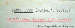 Cupcakista Recette de Lemon Curd-4