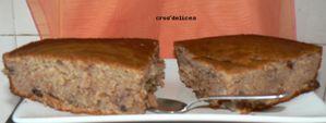 Gâteau à la crème de marron vanillée