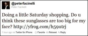 Peter Facinelli - sunglasses