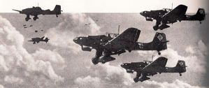 Stukas in volo