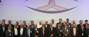 Ceux qui ont vendu leur pays la Syrie - Doha novembre 2012 - Cliquer sur la photo pour l'agrandir : http://mediabenews.files.wordpress.com/2012/12/196670723.jpg?w=594&h=250&crop=1