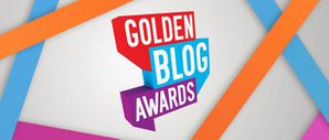 LOGO GOLDEN BLOG AWARDS