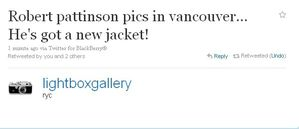 Tweet abt Robsten arriving @ VanCity 3