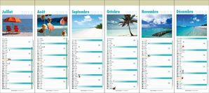 Calendrier 2013 12 pages Plage2
