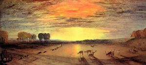 Petworth Park by Joseph Mallord Turner
