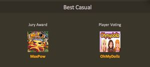 OhMyDollz Best Casual Game 2011