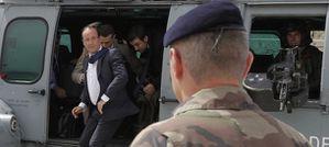 afganistan visita lampo di Hollande