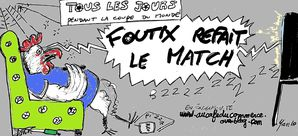 Footix refait le match 0