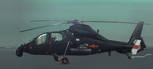 Z-19 (Z-9W tandem-seat attack mod) pic1 source China Defenc