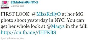 Kelly Osbourne's 2nd photoshoot for Material Girl - April 25, 2011