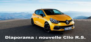 Renault Clio RS affiche