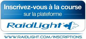RAIDLIGHT logo inscriptions courses PRINT